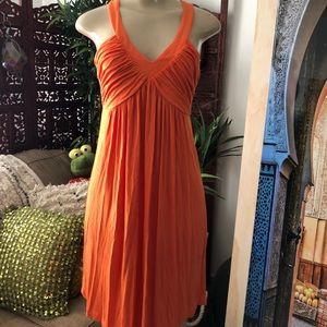 Calvin Klein orange dress size 4